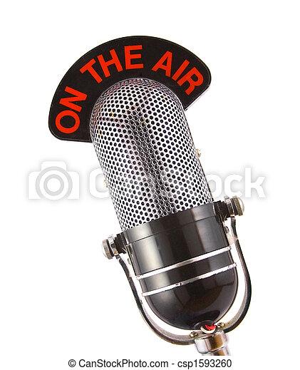 micrófono retro - csp1593260