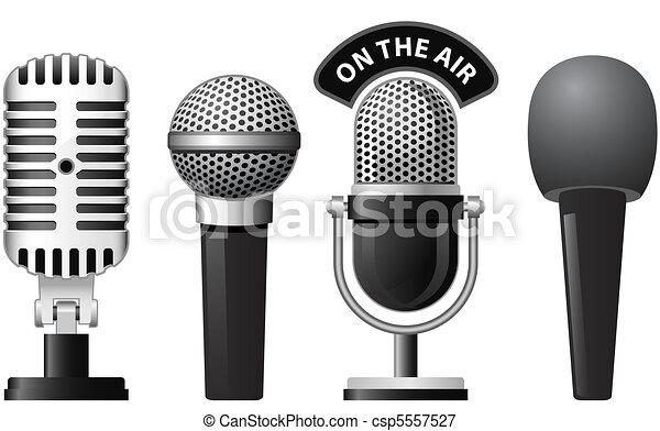 Micrófono - csp5557527