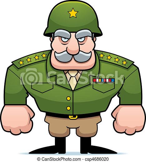 General militar - csp4686020