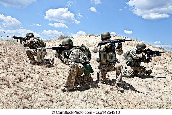 Operación militar - csp14254310