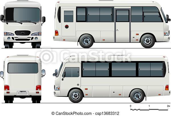 Autobuses Urbanos - csp13683312