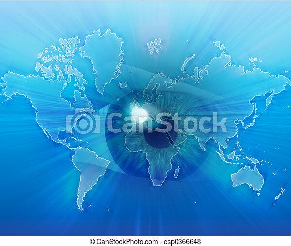 Mirando al mundo - csp0366648