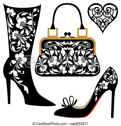Ilustración de moda - csp5254571