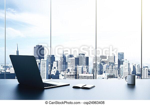 Oficina moderna - csp24963408
