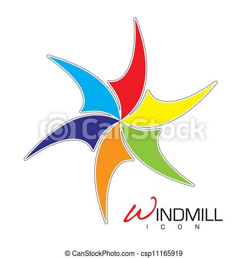 Un icono del molino - csp11165919