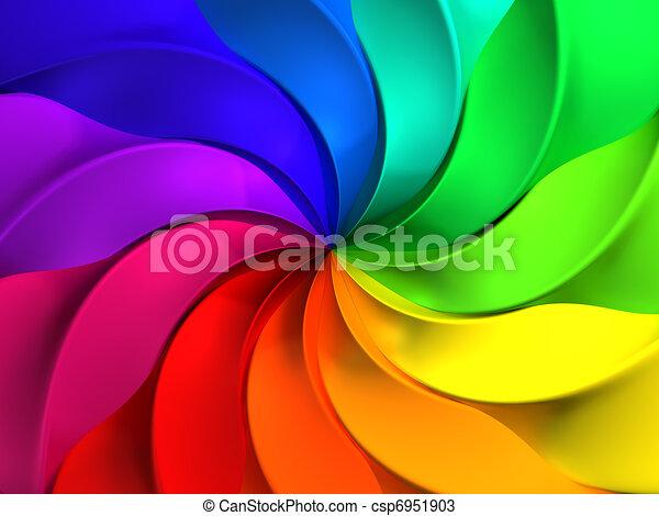 Colorido y abstracto pauta de fondo - csp6951903