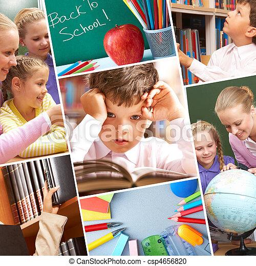 Momentos de educación - csp4656820