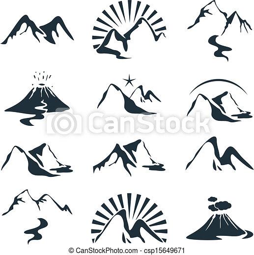 Montañas listas - csp15649671