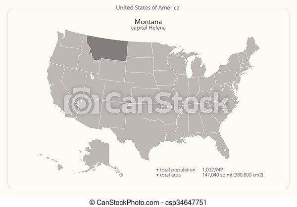 Montana - csp34647751