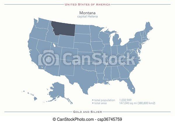 Montana - csp36745759
