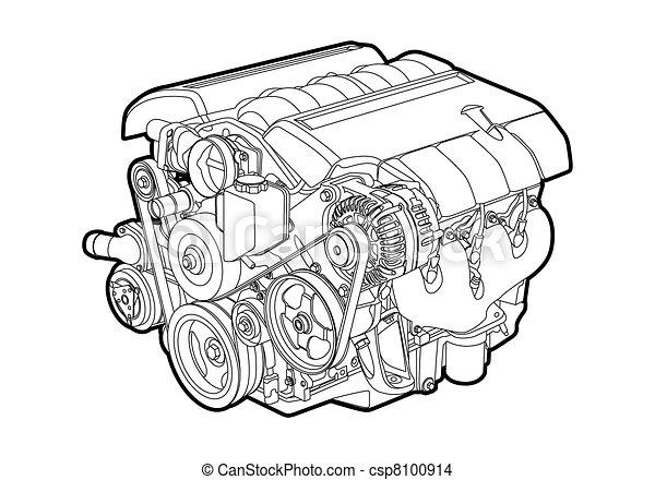 Motor de vector - csp8100914