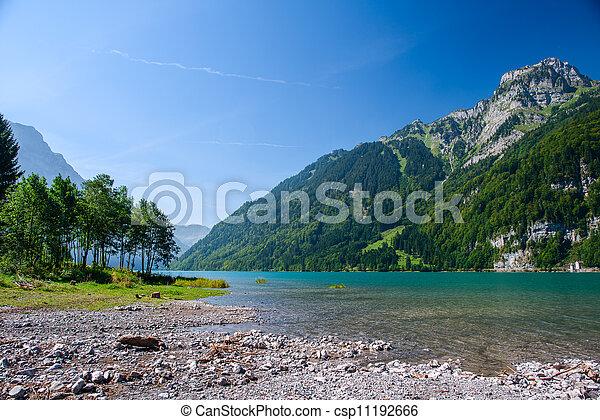 Mountain Lake en Kloental - csp11192666