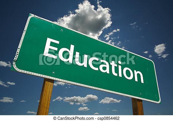 Señales de educación - csp0854462