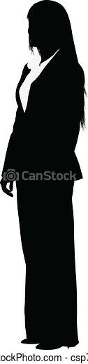 Mujer de negocios - csp7442504