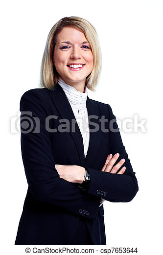 Mujer de negocios profesional. - csp7653644