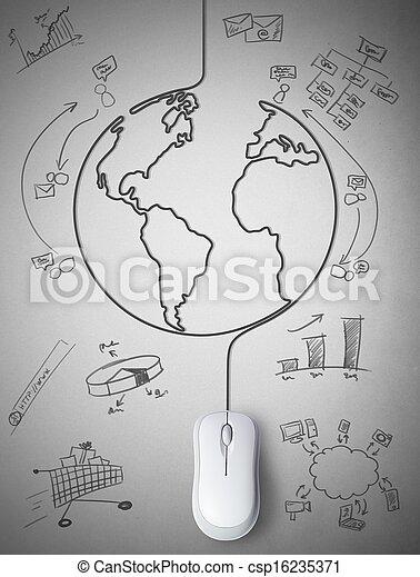 Conexión con el mundo - csp16235371