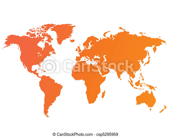 Vector mundial de mapas - csp5295959
