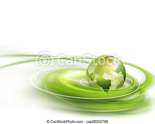 Mundo verde - csp28202789