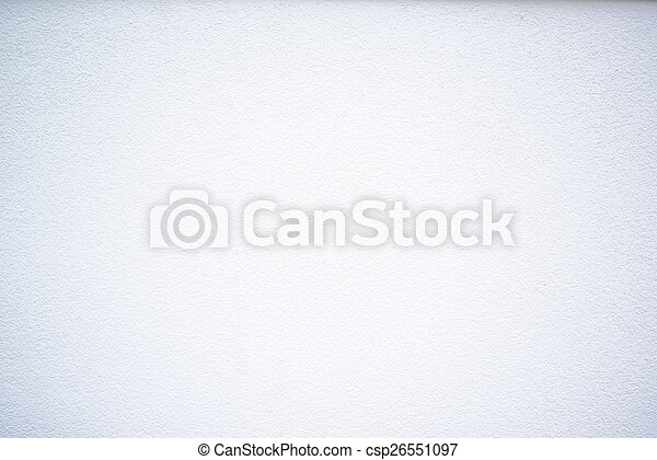 Muro blanco - csp26551097