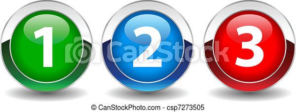 Números de vector - csp7273505