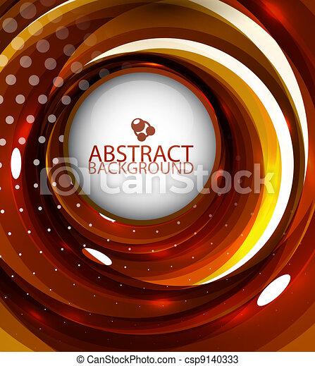 Abstrae el pasado naranja - csp9140333