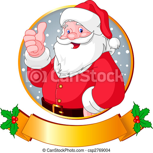 Santa Navidad - csp2769004