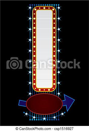 Neón vertical - csp1516927