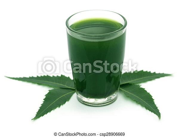 Neem medicinal sale con extracto - csp28906669