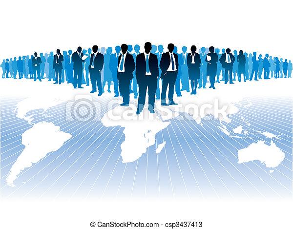 Asuntos globales - csp3437413