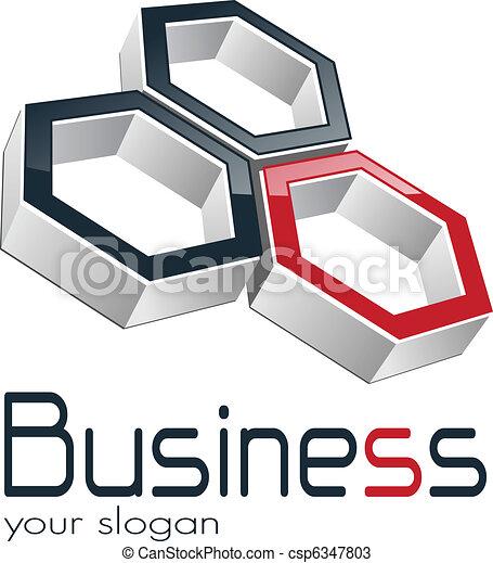 Negocios del logo - csp6347803