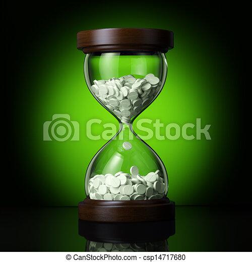 Negocios farmaceuticos en verde ba - csp14717680