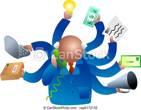 Negocios ocupados - csp0172133