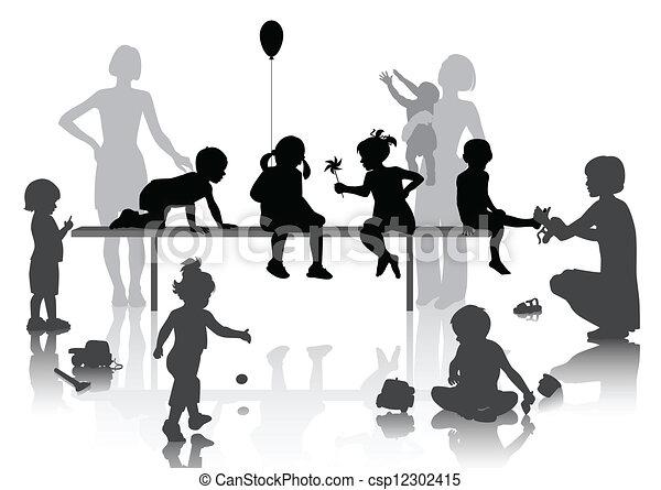 Niños - csp12302415