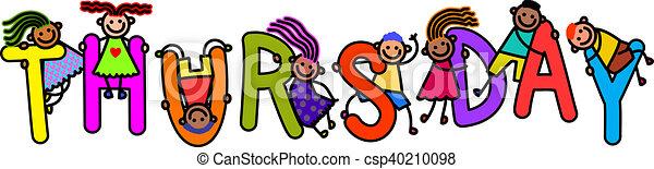Niños del jueves - csp40210098