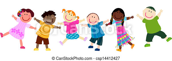 Niños felices - csp14412427
