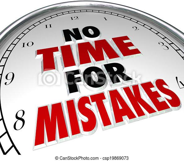 No hay tiempo para errores, la precisión del reloj - csp19869073