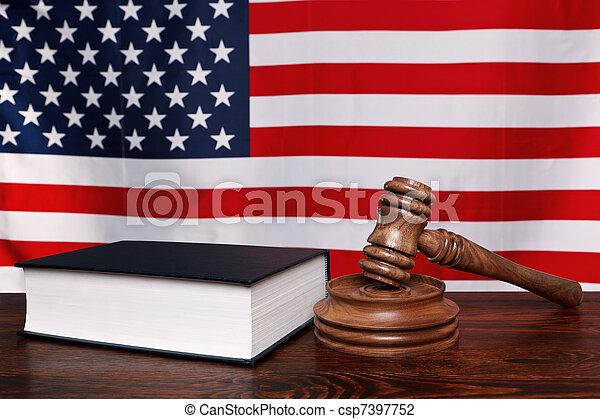 Derecho americano - csp7397752