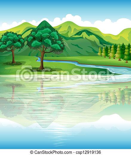 Nuestros recursos naturales de tierra y agua - csp12919136
