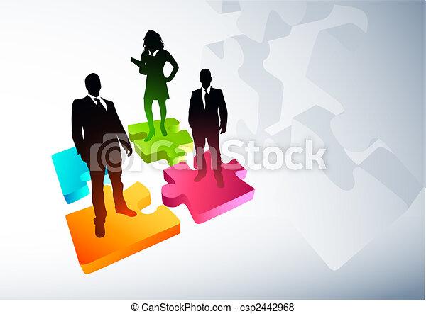 Nuevas estrategias de negocios - csp2442968