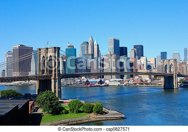 Nueva York - csp0827571