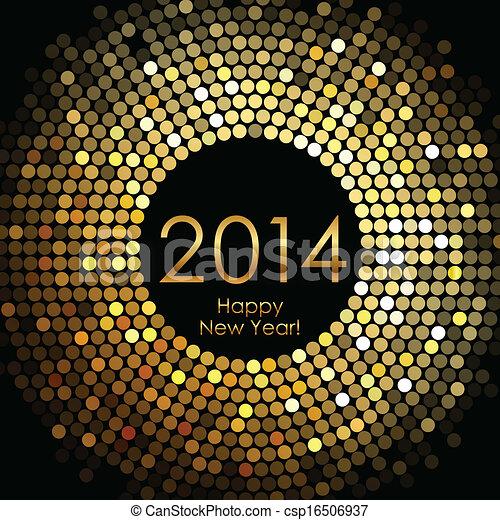 Feliz año nuevo 2014 - csp16506937