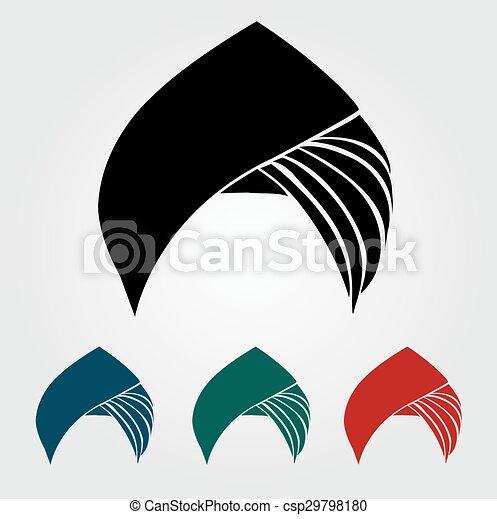 turbantes coloridos o cascos - csp29798180