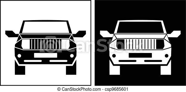 Un icono del vehículo - csp9685601