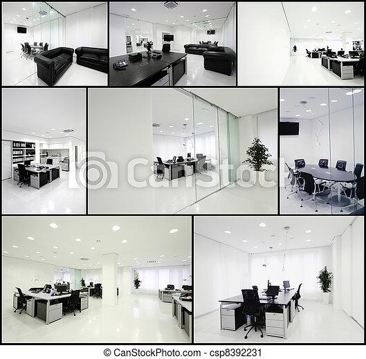 Oficina moderna - csp8392231