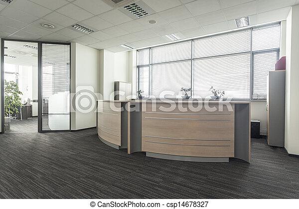 La recepción de la oficina - csp14678327