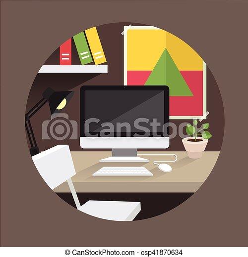 El director de la oficina - csp41870634