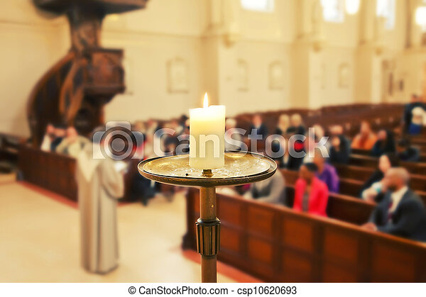 Servicio de iglesia - csp10620693