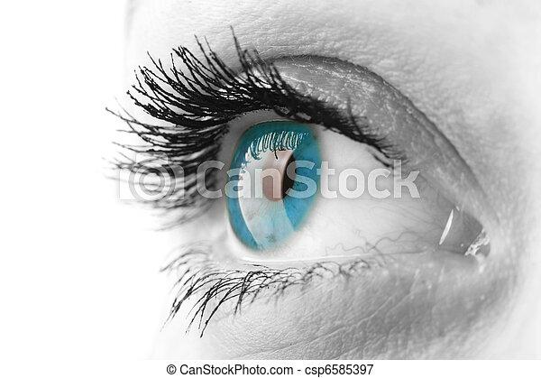 Ojo de mujer - csp6585397