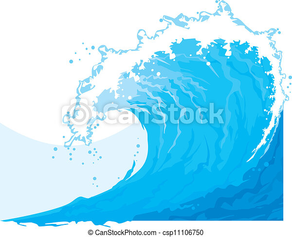 Ola de mar (Ola de océano) - csp11106750