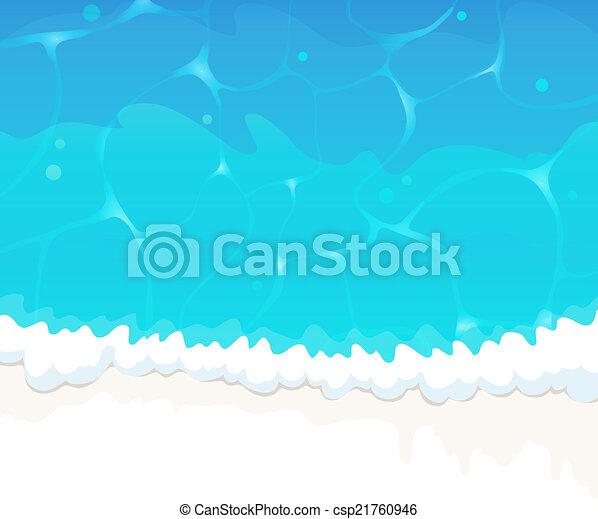 Ola del océano - csp21760946